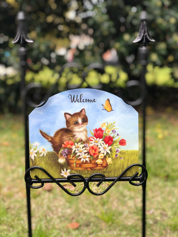 Heritage Gallery Mia's Kitten Garden Sign