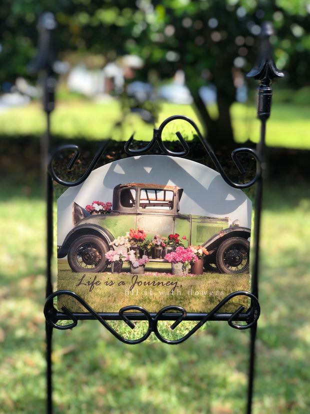 Heritage Gallery Model A Garden Sign