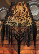 Heritage Lace Halloween Gala Lamp Shade Topper