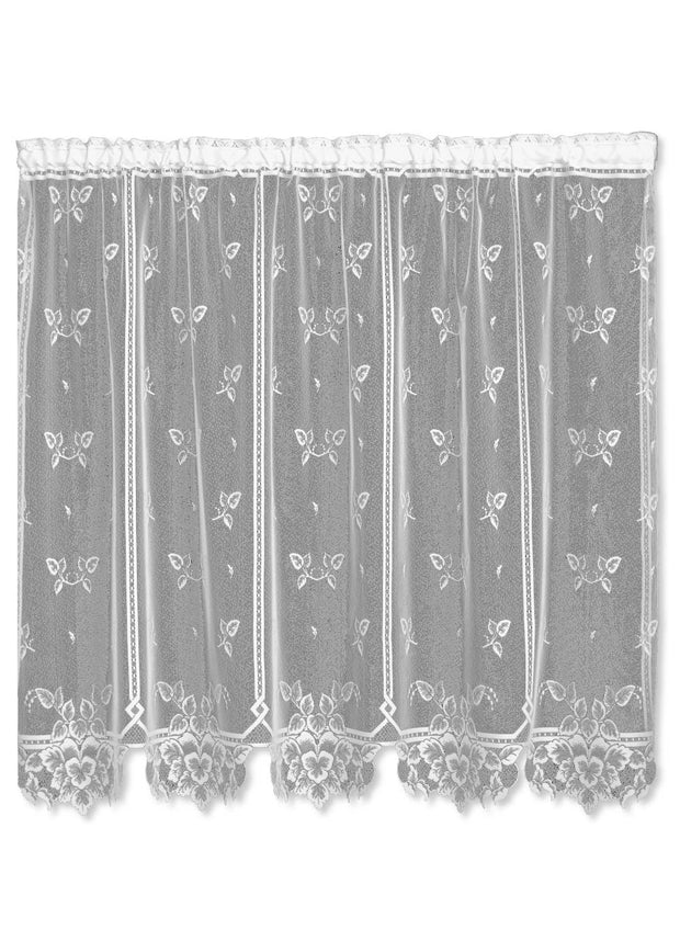 Heritage Lace Heirloom Sheer Panel, White