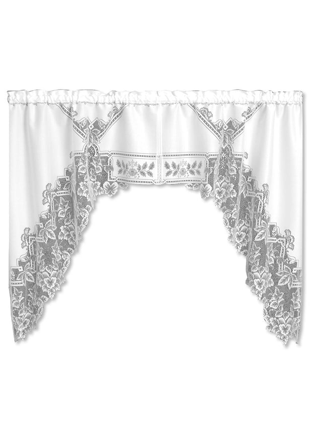 Heirloom Curtain Collection, White