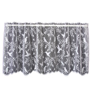Hummingbird Curtain Collection, White