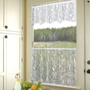 Heritage Lace Hummingbird Curtain Collection, White