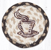 Country Collection, Individual Jute Coasters - MORE DESIGNS & SIZES