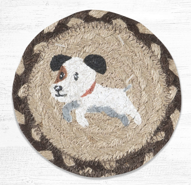 Cat & Dog Collection, Individual Jute Coasters - CLICK FOR MORE DESIGNS & SIZES