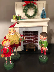 ESC & Co. Gift Exchange Girl, Jolly Good Fun, Holiday Hearth, Gift Exchange Boy by Lori Mitchell