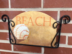 Beach Shell Garden Sign, Heritage Gallery