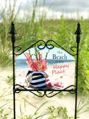 Heritage Gallery Beach Bag Garden Sign