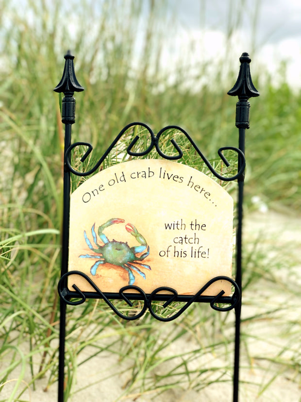 Heritage Gallery Maryland Crab Garden Sign