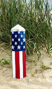 "Studio-M Stars & Stripes Forever 20"" Art Pole"