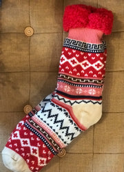 Snoozies Sherpa Socks
