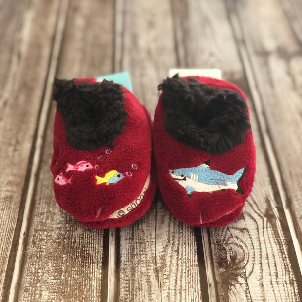 Simply Pairables Snoozies Slippers for Baby, Shark Bite