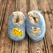 Simply Pairables Snoozies Slippers for Baby, Mouse & Cheese