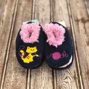 Simply Pairables Snoozies Slippers for Baby, Cat & Yarn
