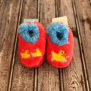 Simply Pairables Snoozies Slippers for Baby, Rubber Duckies