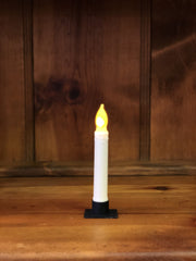 "Barn Cat Mercantile 6"" LED Battery Operated Timer Taper Candle, Buttermilk"