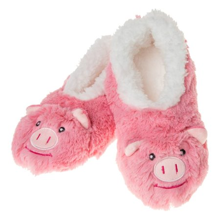 Pink Pig Furry Foot Pal Snoozies for Toddlers