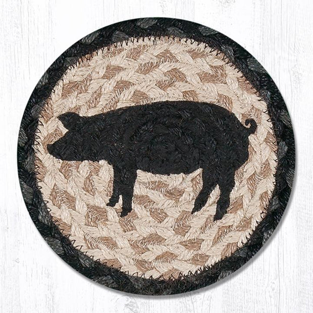 Animals & Wildlife Collection, Individual Jute Coasters - MORE DESIGNS & SIZES