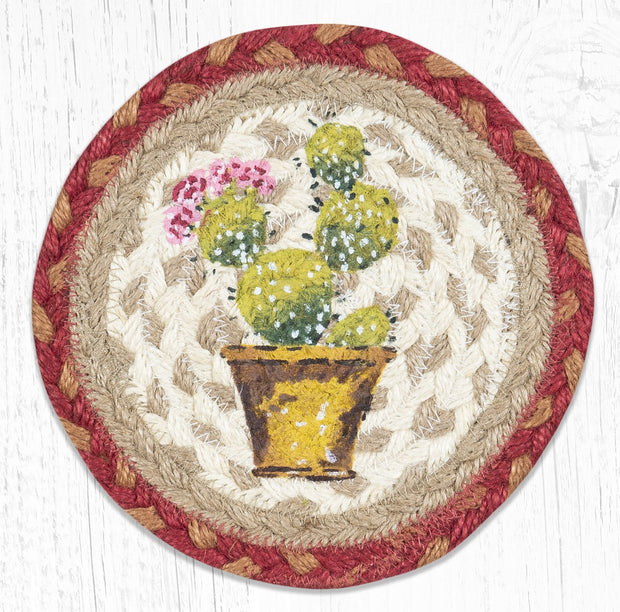 Southwestern Collection, Individual Jute Coasters - MORE DESIGNS & SIZES