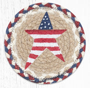Spring/Summer Seasonal Collection, Individual Jute Coasters - MORE DESIGNS & SIZES