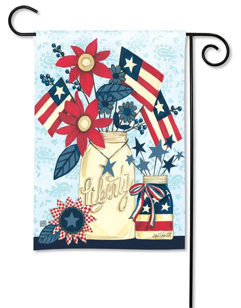 Studio-M Liberty Flags Garden Flag