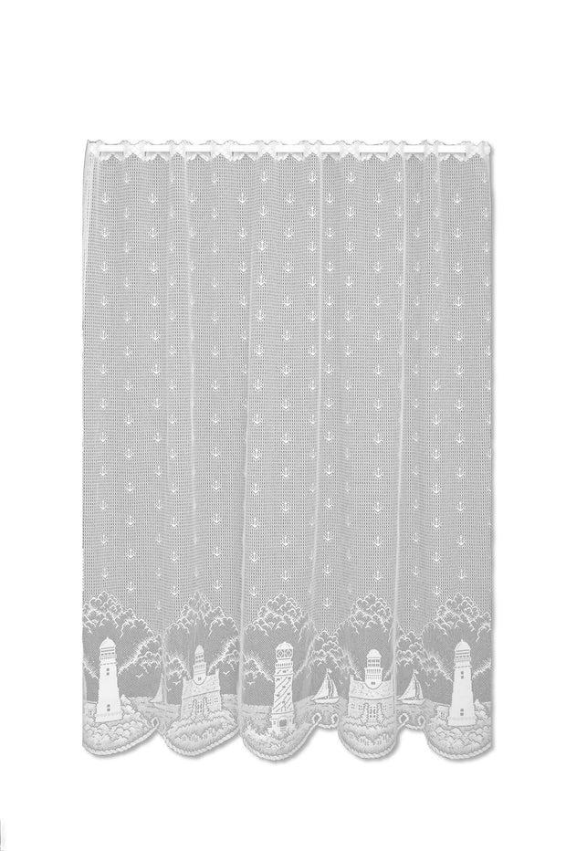 "Heritage Lace 60""x 36"" Panel - White"