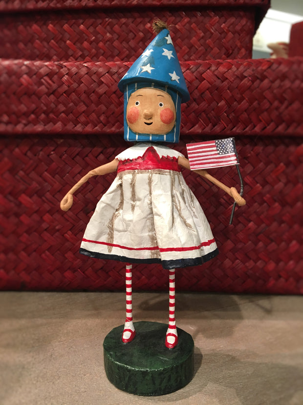 Lil Firecracker Girl by Lori Mitchell