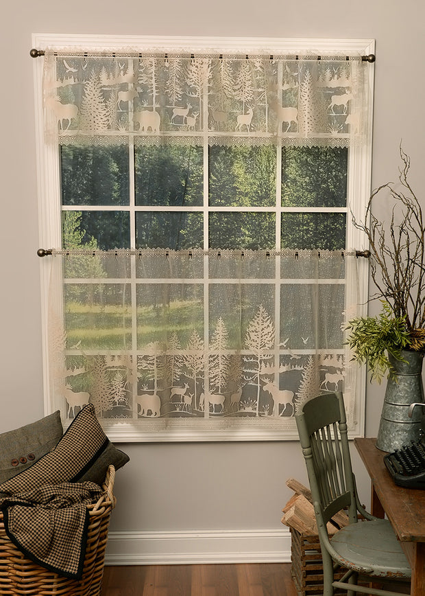 Heritage Lace Lodge Hollow Curtain Collection