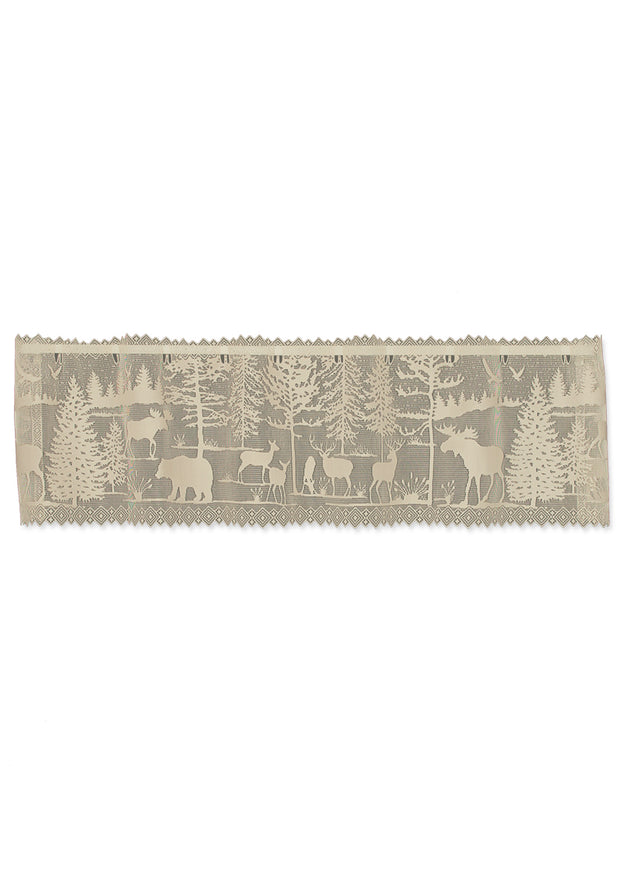 Heritage Lace Lodge Hollow Valance