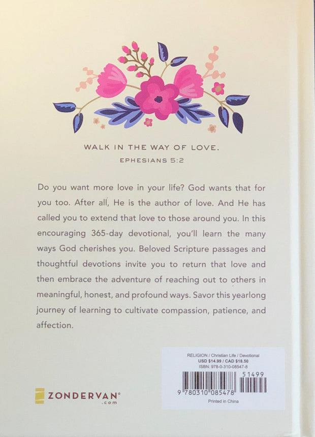 365 Devotions to Love God and Love Others Well, Back Cover