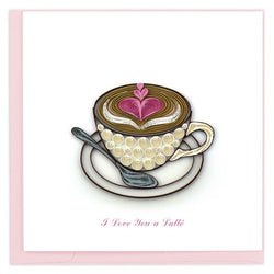 Love Latte Quilling Card