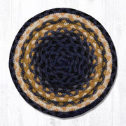 "*Braided Jute Trivets/Miniature Swatches, 10"" Round"