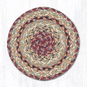"*Braided Jute Trivets/Miniature Swatches, 10"" Round - CLICK FOR MORE COLOR OPTIONS"