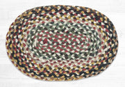 "Capitol Earth Rugs Table Accent/Miniature Swatch, 10"" x 15"" Oval, Color: Random"