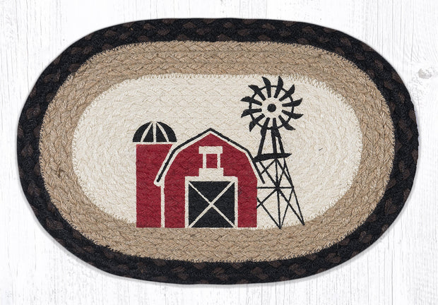 Country Collection, Printed Jute Trivets/Miniature Swatches - CLICK FOR MORE SIZES