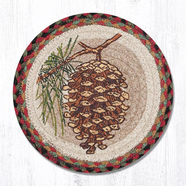 Winter Seasonal Collection, Printed Jute Trivets/Miniature Swatches - MORE DESIGNS & SIZES