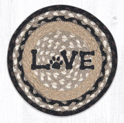 Cat & Dog Collection, Printed Jute Trivets/Miniature Swatches - CLICK FOR MORE SIZES
