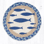 Coastal/Nautical Collection, Printed Jute Trivets/Miniature Swatches - CLICK FOR MORE SIZES