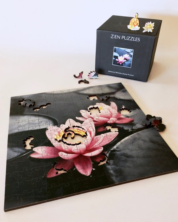 Lotus Blossoms Teaser Puzzle