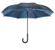 Galleria Midnight Reverse Close Umbrella