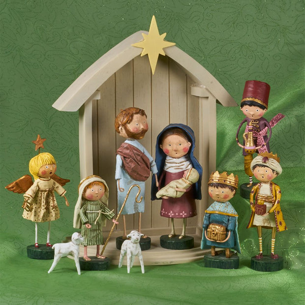 Nativity Set by Lori Mitchell