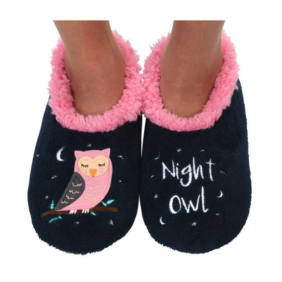 Night Owl Snoozies Slippers for Women