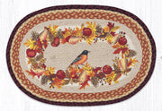 "Capitol Earth Rugs Autumn Oriole Oval Patch Rug, 20"" x 30"""