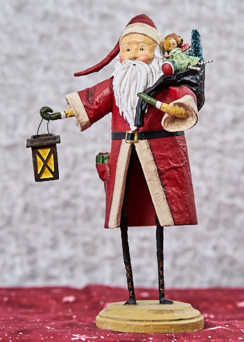 ESC & Co Old Father Christmas, Red by Lori Mitchell