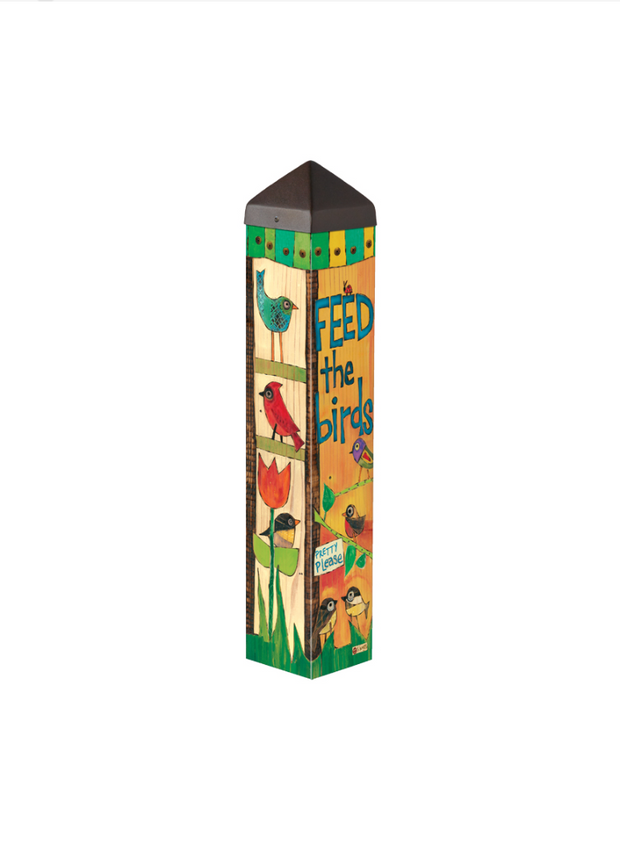 "Studio-M Feed the Birds 20"" Art Pole"