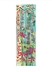 Studio-M Faith, Hope, & Love 4' Art Pole