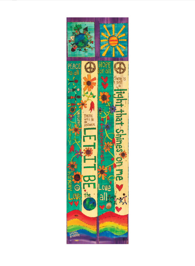 Studio-M Let It Be 6' Art Pole, The Lyric Project