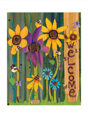 "Studio-M Peace Garden 20"" Art Pole"
