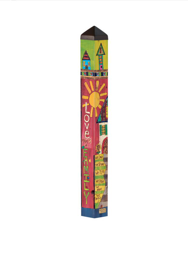 "Studio-M Family Home 40"" Art Pole"