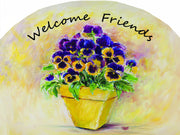 Pansy Pot Garden Sign